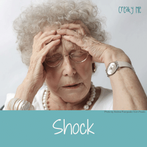Shock reaction to chronic disease