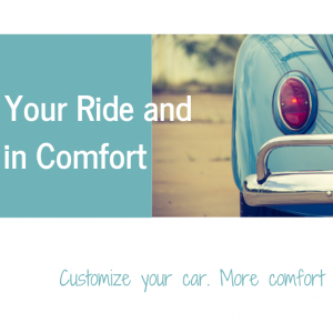 Customize your car for cheap. 10+ aids for more comfort, less pain.